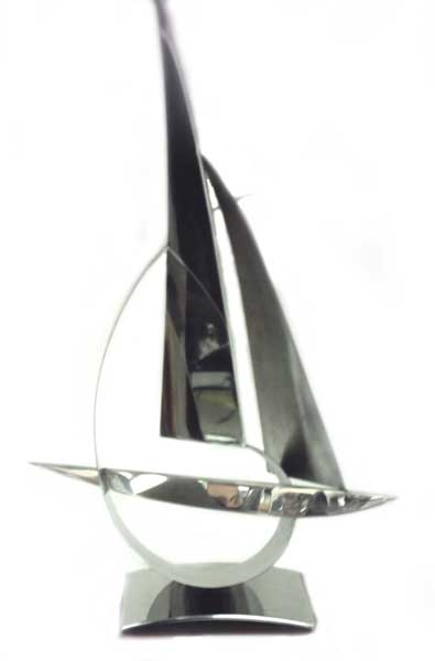 . 6 Metre World Championships, Concours d'Elegance - Winners Trophy 2007 - MELLOWS, John