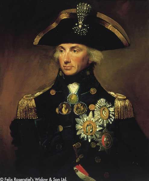 Admiral Sir Horatio Nelson - ABBOTT, Lemuel Francis