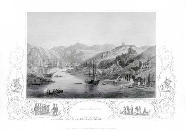 Allied Ships at Balaklava, Crimean War - UNKNOWN ARTIST