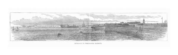 Entrance to Portsmouth Harbour - UNKNOWN ARTIST