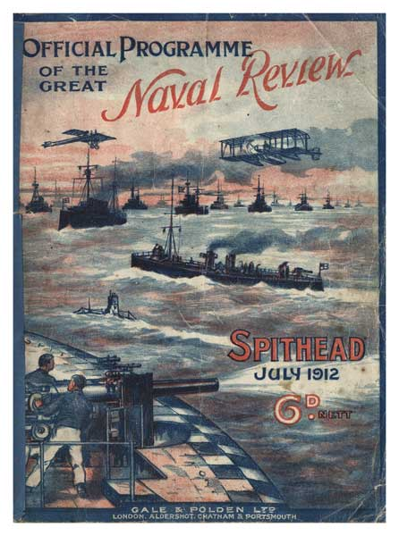 Fleet Review 1912, Spithead viewed from Spitbank Fort - UNKNOWN ARTIST