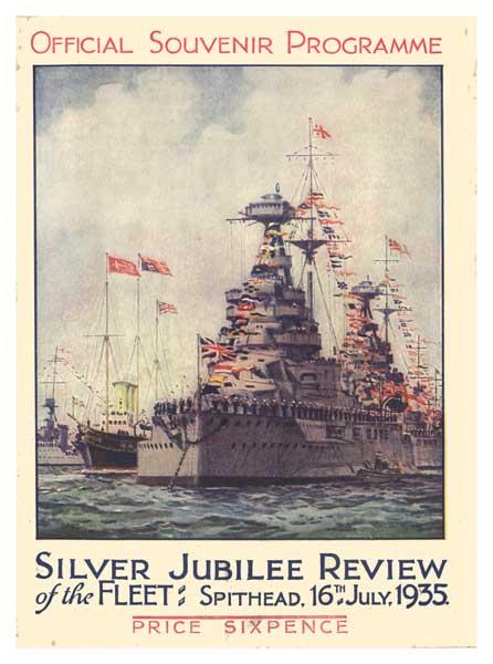 Fleet Review Programme 1935 - UNKNOWN ARTIST