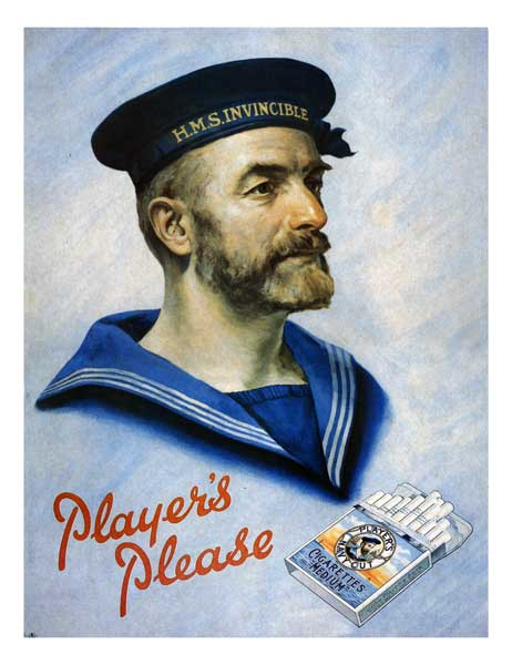 Players Navy Cut Cigarettes - POSTER - UNKNOWN ARTIST