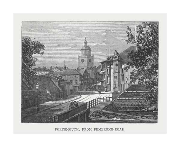 Portsmouth from Pembroke Road - UNKNOWN ARTIST