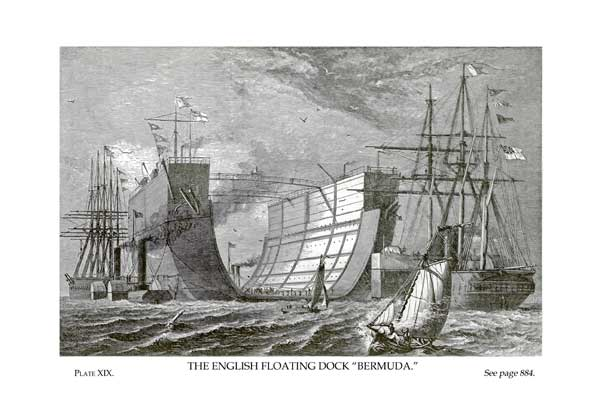 The English Floating Dock, Bermuda - UNKNOWN ARTIST