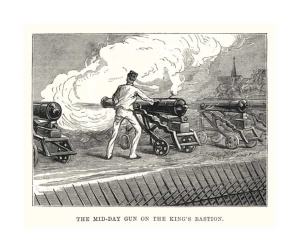 The Mid Day Gun - UNKNOWN ARTIST