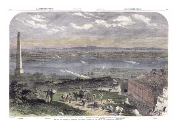 The Town and Harbour of Portsmouth - UNKNOWN ARTIST