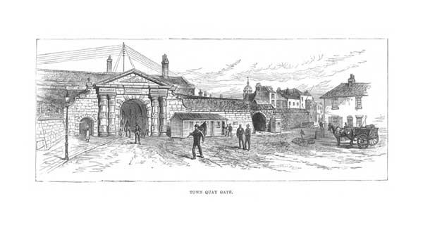 Town Quay Gate - UNKNOWN ARTIST