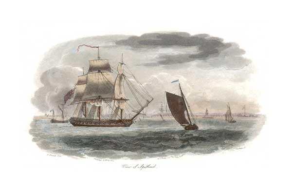View of Spithead - UNKNOWN ARTIST