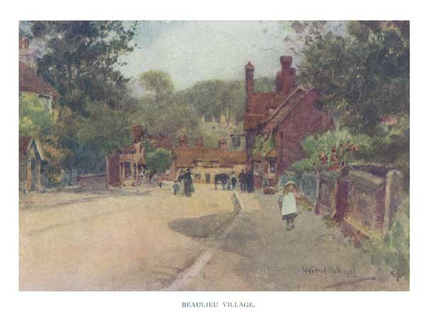Beaulieu Village - BALL, Wilfred Williams