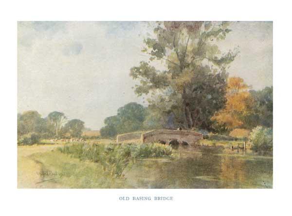 Old Basing Bridge - BALL, Wilfred Williams