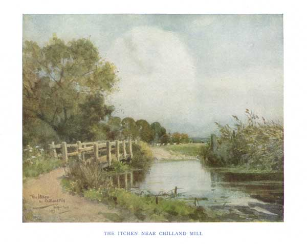 The Itchen Near Chilland Mill - BALL, Wilfred Williams