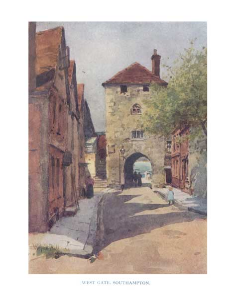 West Gate, Southampton - BALL, Wilfred Williams