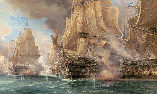 Four Scenes of Trafalgar - 1.00 PM - BALLIN, Auguste
