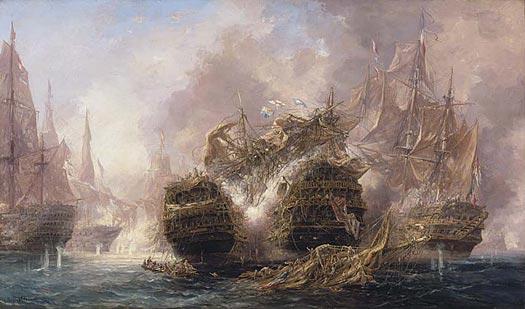 Four Scenes of Trafalgar - 2.15 PM - BALLIN, Auguste