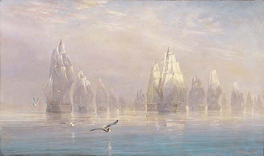 Four Scenes of Trafalgar - 6.50 AM - BALLIN, Auguste