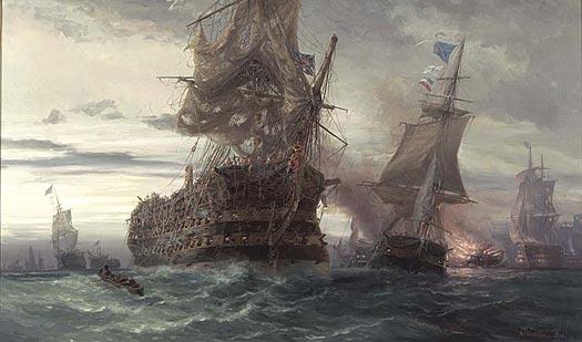 Four Scenes of Trafalgar - 7.00 PM - BALLIN, Auguste