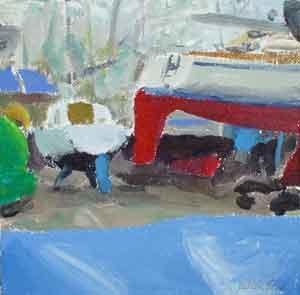 Bosham Boatyard - BOND, Julian