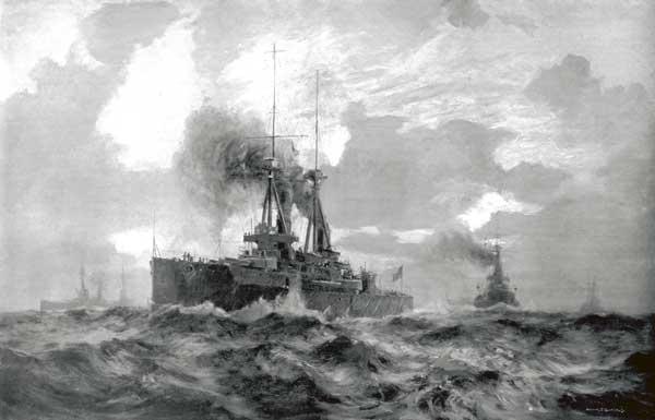 Dreadnoughts - PRINT - BURGESS, Arthur