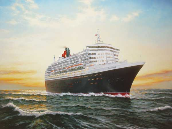 Queen Mary 2, Maiden Voyage - CHARMAN, Rodney