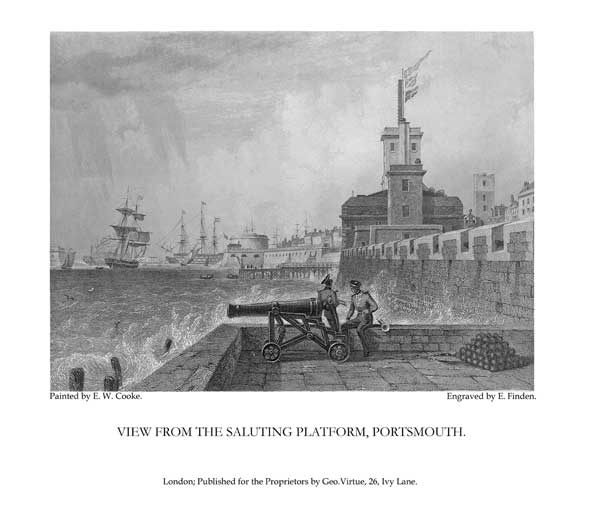 View from the Saluting Platform - COOKE, Edward William