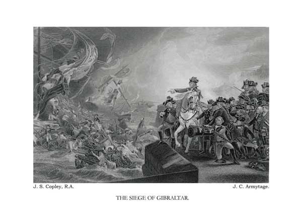 The Siege of Gibraltar - COPLEY, John Singleton