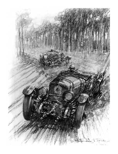 _ Bentley Le Mans - CROSBY, Gordon