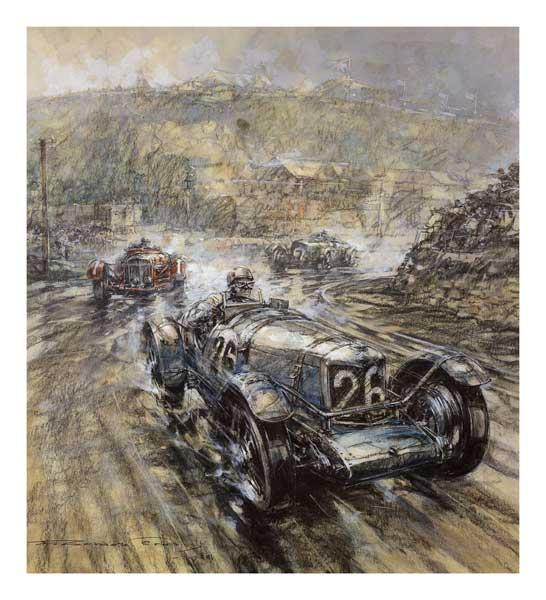 _ Riley Double 12 Racer - CROSBY, Gordon