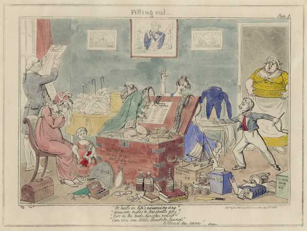 No. 1 Fitting Out - CRUIKSHANK, George