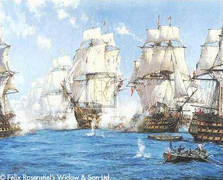 The Battle of Trafalgar - DAWSON, Montague