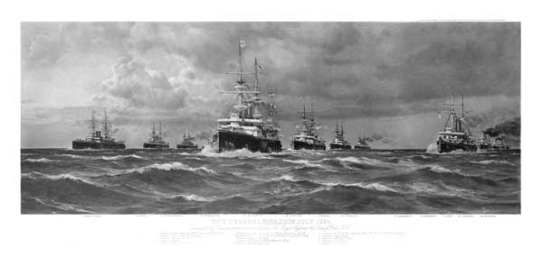 Channel Fleet 1898 - DE MARTINO, Eduardo