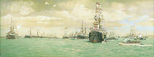 Fleet Review 1897 - The Diamond Jubilee Review of Queen Victoria - DE MARTINO, Eduardo