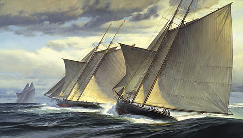 End of Day One - The Great Transatlantic Race 1866 - DEMERS, Don