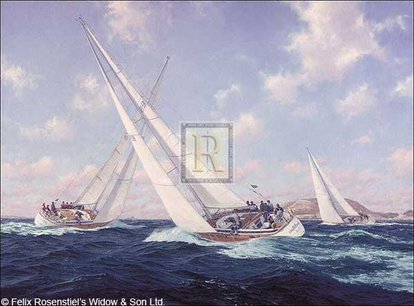 Swan 46s off Herm Guernsey - DEWS, Steven