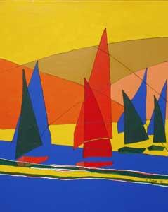 Sailing in the Sun - DUNNE, Carol