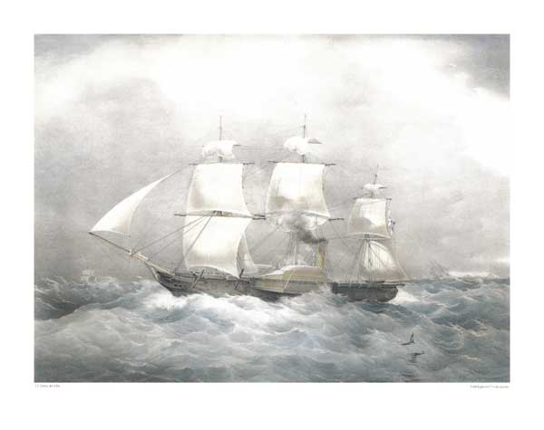 HM Steam Frigate Penelope - DUTTON, Thomas G