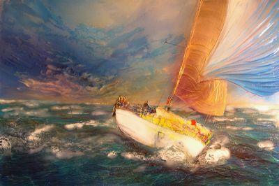 Lone Yacht Boat - ECKARDT, Robin