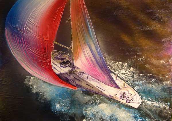 Over Head Yacht - ECKARDT, Robin