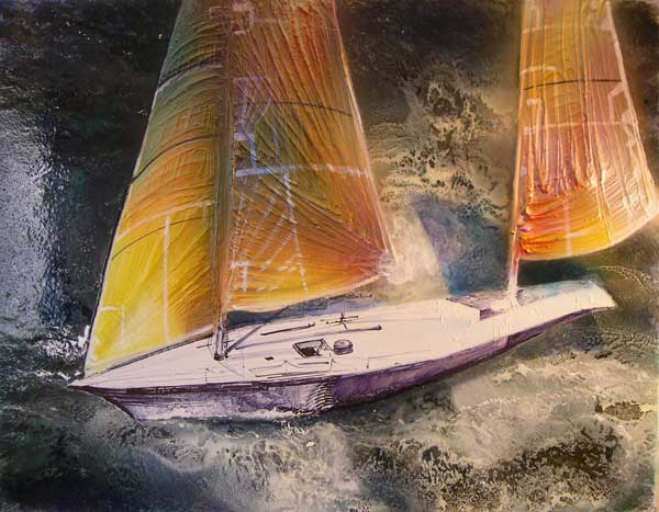 Yellow Sails - ECKARDT, Robin
