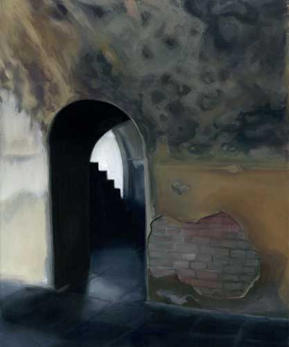Arch to Stairway - PRINT - FLAHERTY, Maureen