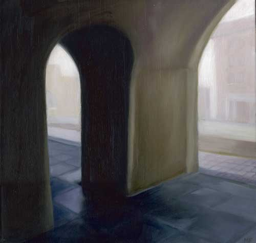 Two Arches - ORIGINAL - FLAHERTY, Maureen
