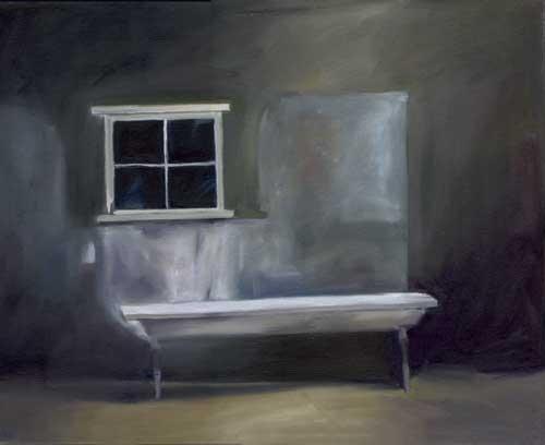 Window Bench - ORIGINAL - FLAHERTY, Maureen