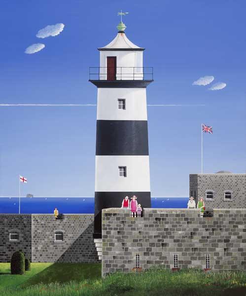 Southsea Castle Lighthouse - ORIGINAL - HEARD, Peter