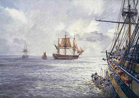 HMS Duke William - HUNT, Geoff