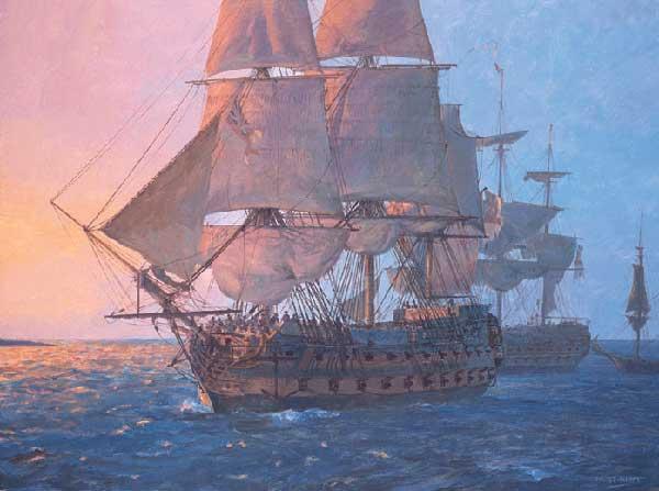 HMS Leander - HUNT, Geoff
