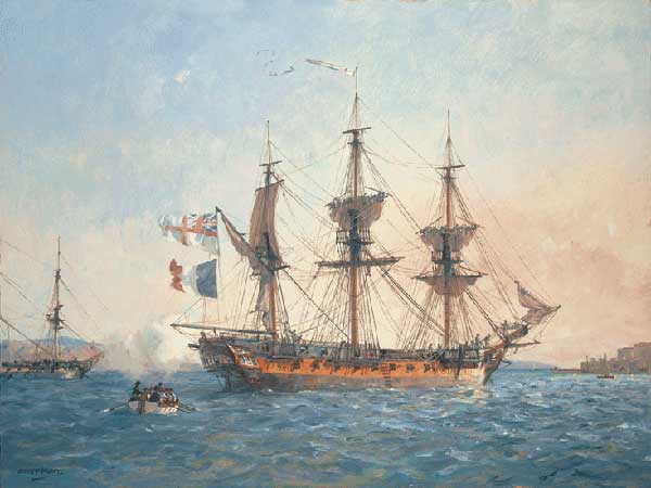 HMS Surprise - HUNT, Geoff