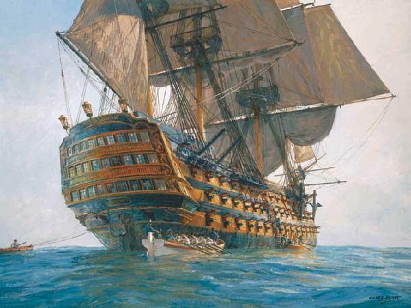 HMS Victory - HUNT, Geoff