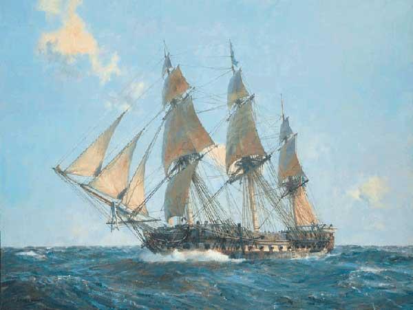 USS United States - HUNT, Geoff