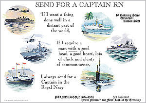 Send for a Captain Royal Navy - JONES, Ossie