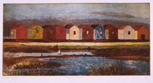 Beach Huts - KEOGH, Karen